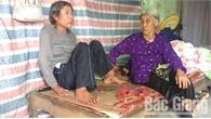 Cụ bà 85 tuổi vẫn phải chăm nuôi chồng, con