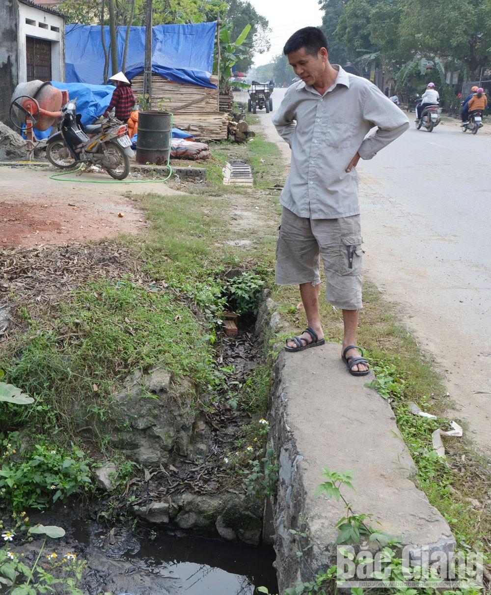 Bắc Giang, Hiệp Hòa,  cơ sở chăn nuôi, ô nhiễm môi trường,  Danh Thắng