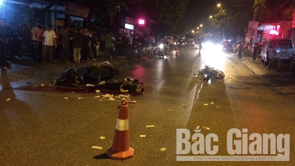 TP Bắc Giang: Một người tử vong, ba người bị thương do tai nạn giao thông