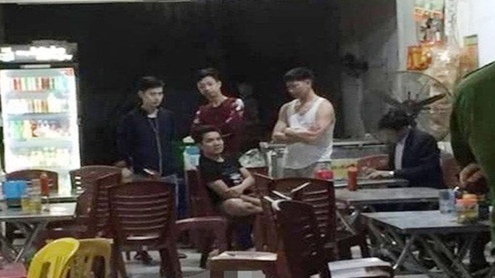 Hỗn chiến, quán nhậu ở Thái Nguyên, 4 người thương vong, quán nhậu xã Điềm Thụy