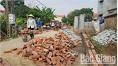 Lục Nam có 366 công trình, phần việc chào mừng Đại hội Mặt trận Tổ quốc các cấp