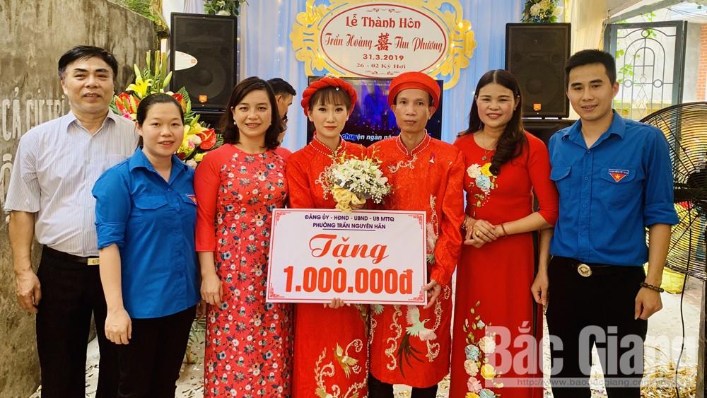 TP Bắc Giang hỗ trợ nhân rộng mô hình đám cưới văn minh, tiết kiệm