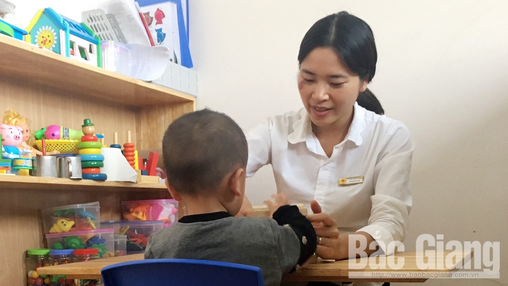 Thành lập cơ sở can thiệp, chăm sóc trẻ tự kỷ tại Lạng Giang