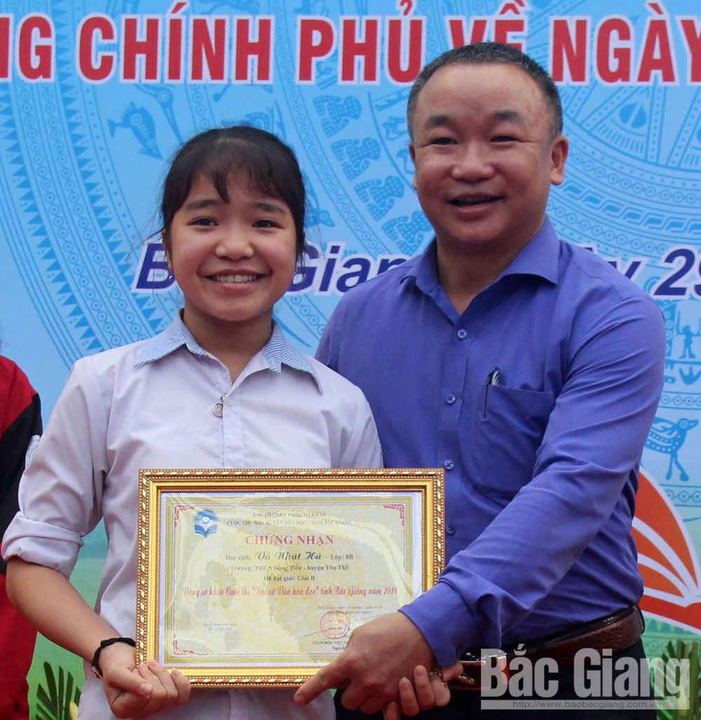 Great contribution, Bac Giang province, reading culture, Tang Thi Phuong Mai, Bac Giang Library, Ambassador of Reading, young students