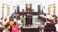 Xét xử vụ án nhiều trẻ em bị mắc bệnh sùi mào gà ở Hưng Yên