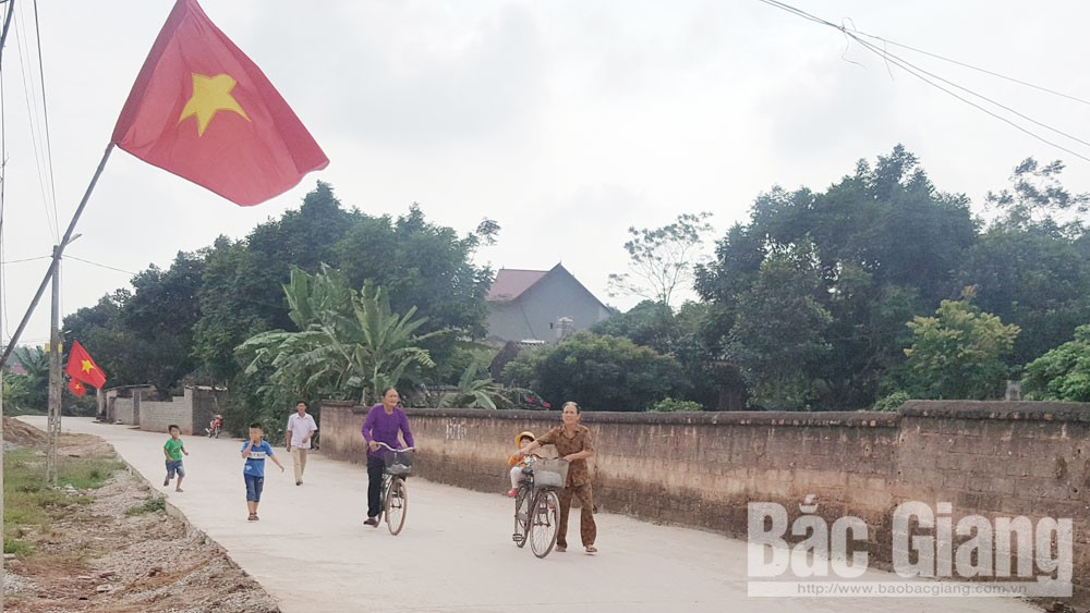 Lạng Giang, Bắc Giang, đời sống mới, đời sống văn hóa