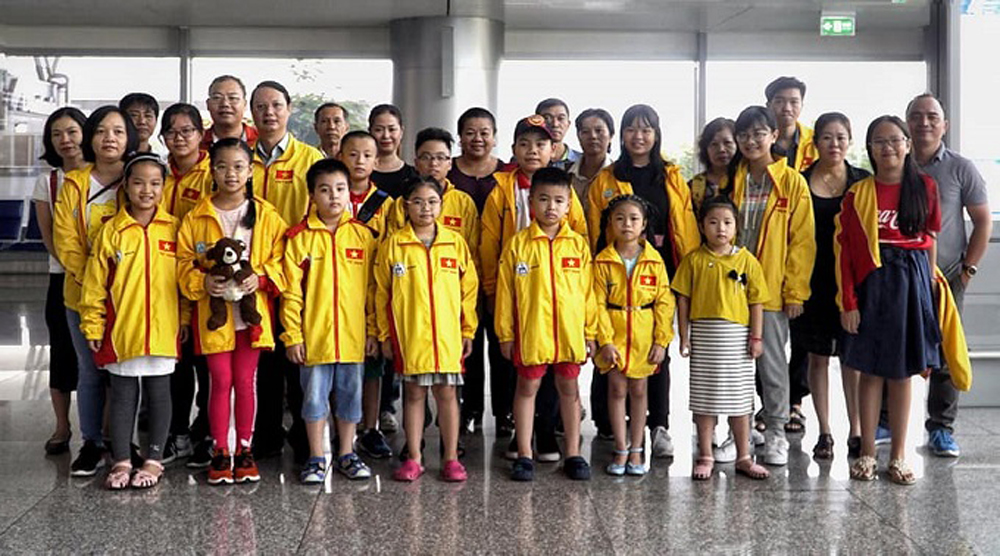 Vietnam, three golds, Asian Youth Chess Championship, Vietnamese contingent, Vietnamese chess prodigy, standard chess competitions, Vietnamese delegation