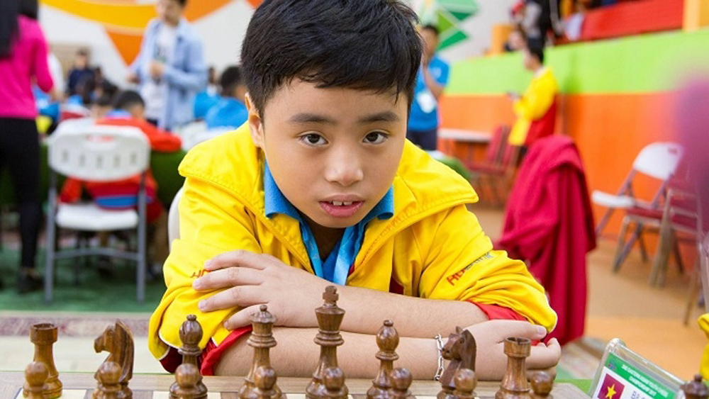 Vietnam secures three golds at Asian Youth Chess Championship
