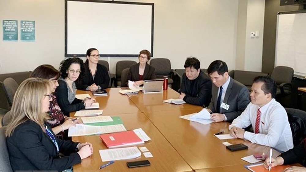 Vietnam, Canada step up parliamentary cooperation