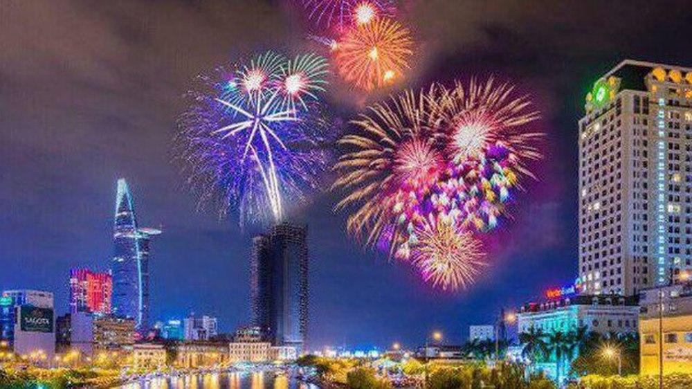 TP Hồ Chí Minh, pháo hoa, kỷ niệm