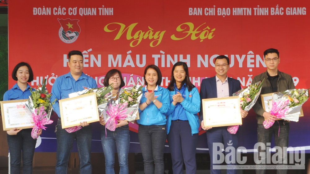 Bac Giang youth's blood donation: Giving lasts forever