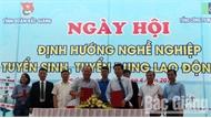 Hơn 1,3 nghìn học sinh Bắc Giang tham gia ngày hội tư vấn hướng nghiệp, tuyển dụng lao động