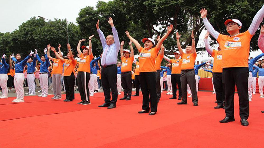 Khởi động Chương trình Sức khỏe Việt Nam: 10.000 bước chân để thay đổi cuộc sống