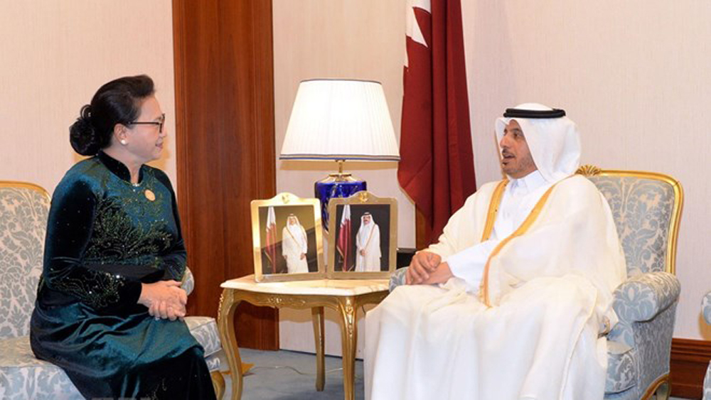 Vietnam, ties with Qatar, NA Chairwoman, important partner, National Assembly Chairwoman, Nguyen Thi Kim Ngan, free trade agreements