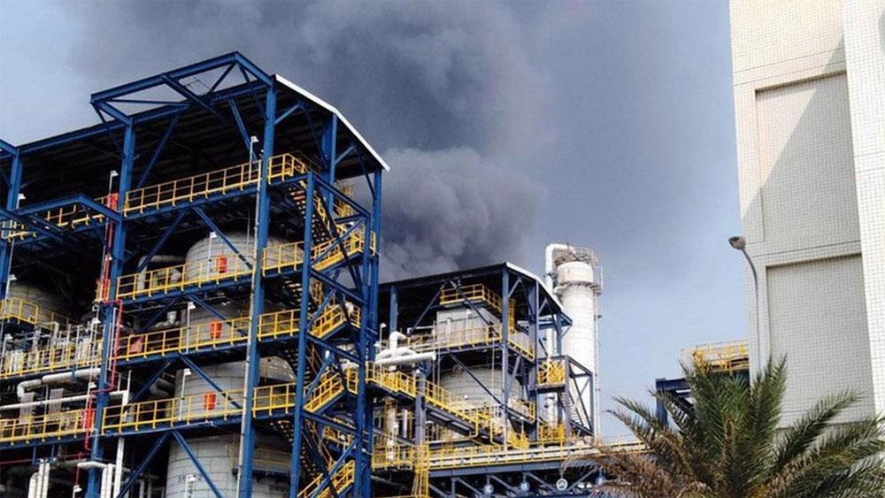 Nổ nhà máy hóa chất ở Đài Loan (Trung Quốc), hơn 10.000 người phải sơ tán
