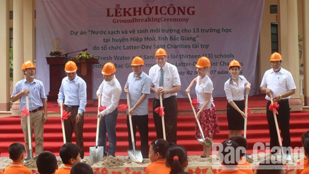 LDSC executes many projects and provides non-project aid to Bac Giang