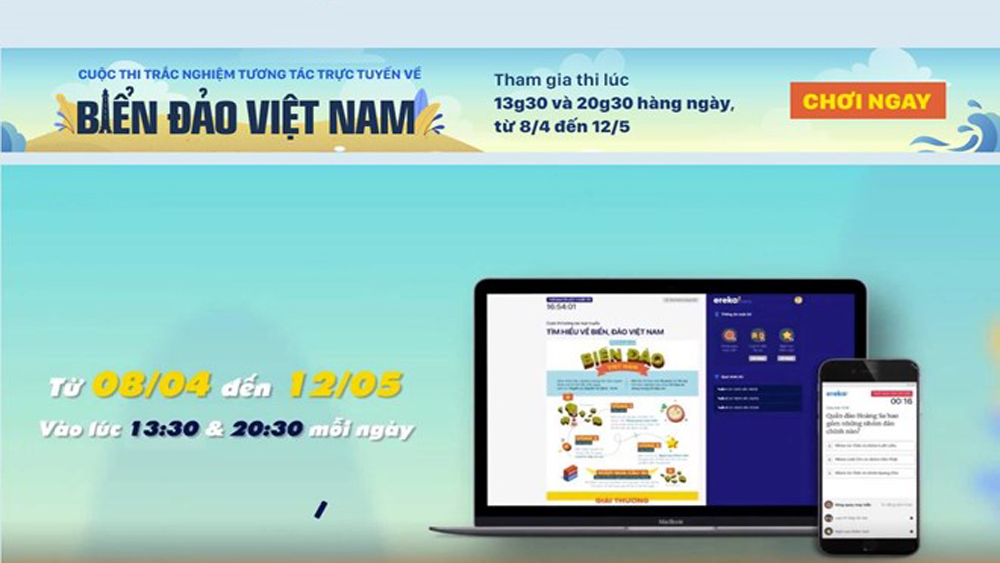 Online quizzes on Vietnamese sea, island knowledge launched in Hanoi