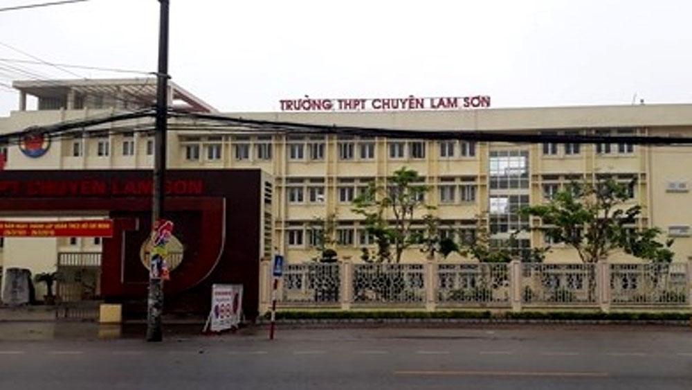 Thanh Hoá: Trường chuyên Lam Sơn bị phạt 32 triệu đồng vì dạy thêm