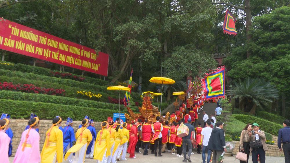 Nét mới tại Lễ hội đền Hùng 2019