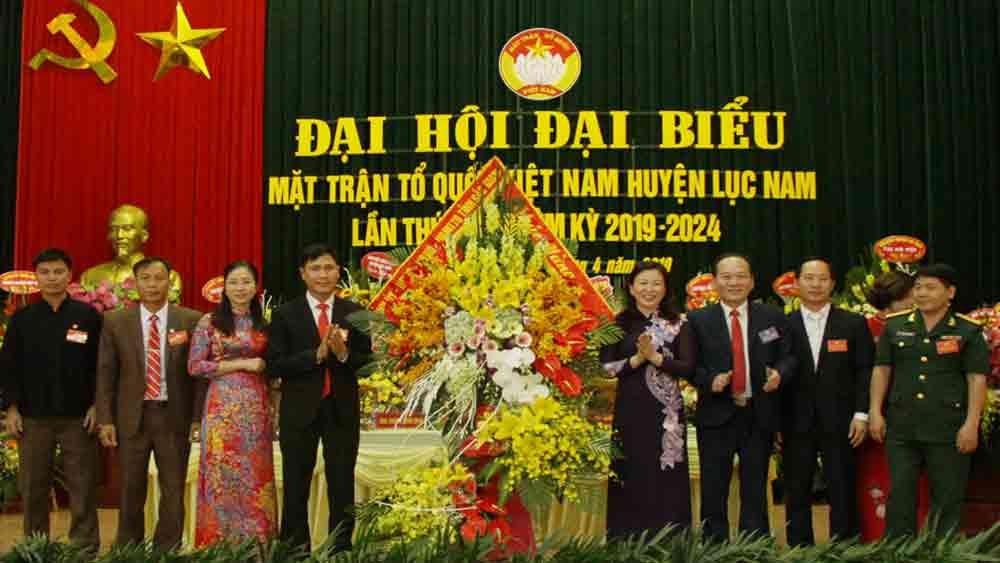 MTTQ huyện Lục Nam đề ra 5 nhóm giải pháp thực hiện nhiệm vụ