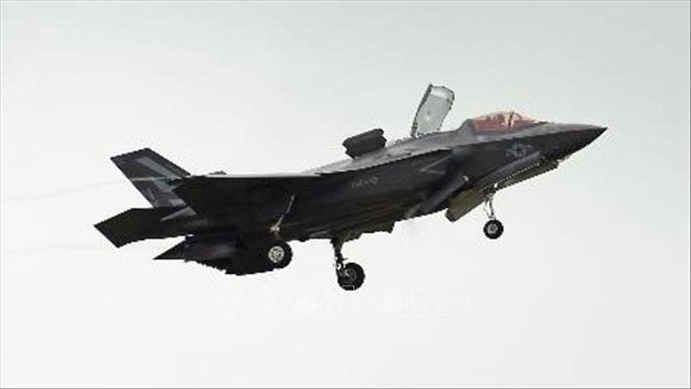 Nhật Bản tạm ngừng hoạt động của đội bay F-35A