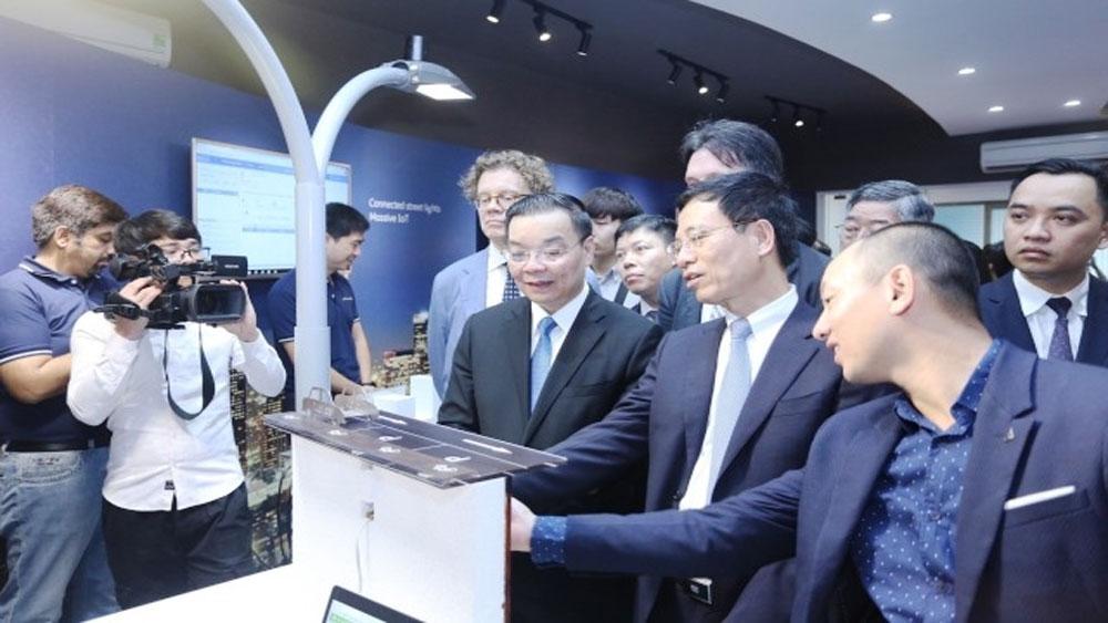 Khai trương, Trung tâm Đổi mới sáng tạo về internet vạn vật, Việt Nam, Khu Công nghệ cao Hòa Lạc, Công ty Ericsson