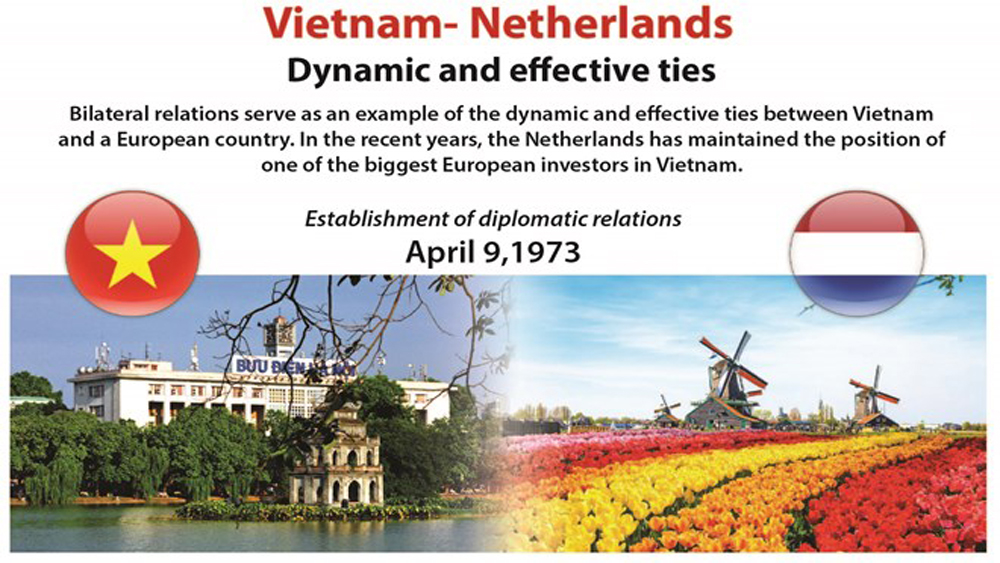 Vietnam- Netherlands: Dynamic and effective ties