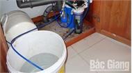 Lãng phí nước từ máy lọc