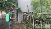 Phun hóa chất phòng dịch ở TP Bắc Giang: Chưa đồng bộ, hiệu quả