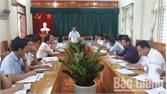 Bí thư Huyện ủy chỉ đạo xã Cẩm Lý tập trung cao thực hiện nhiệm vụ chính trị năm 2019