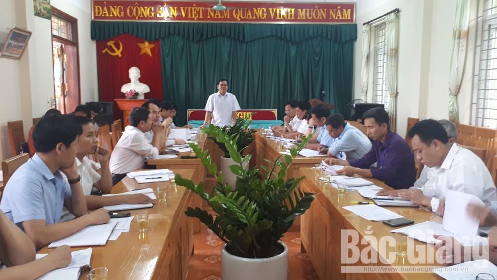 Bí thư Huyện ủy làm việc với Đảng ủy xã Cẩm Lý về thực hiện nhiệm vụ chính trị năm 2019