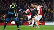 Arsenal hạ Napoli, chiếm lợi thế trước tứ kết lượt về Europa League