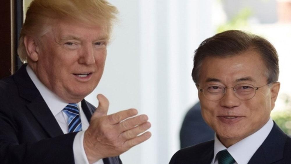 Lãnh đạo Mỹ, Hàn Quốc nhấn mạnh việc duy trì đối thoại với Triều Tiên