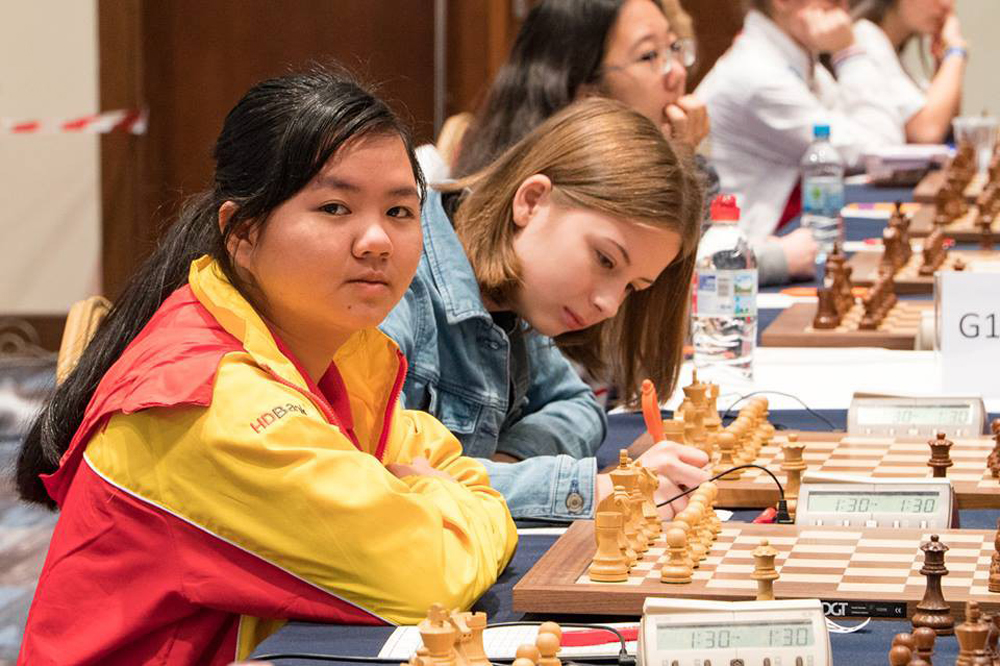 Vietnam, eight gold medals, Asian Youth Chess Championship, junior chess stars, successful end, Asian Youth Championship, bronze medals, runner-up finish