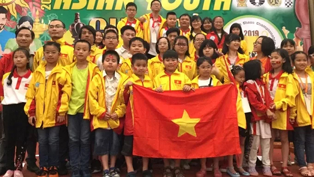 Vietnam bags eight gold medals at Asian Youth Chess Championship