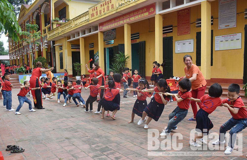 Bắc Giang, Tân Yên, trẻ em, Luật trẻ em, Hội đồng Đội
