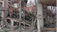 Đắk Lắk: Sập giàn giáo công trình khiến 8 người bị thương