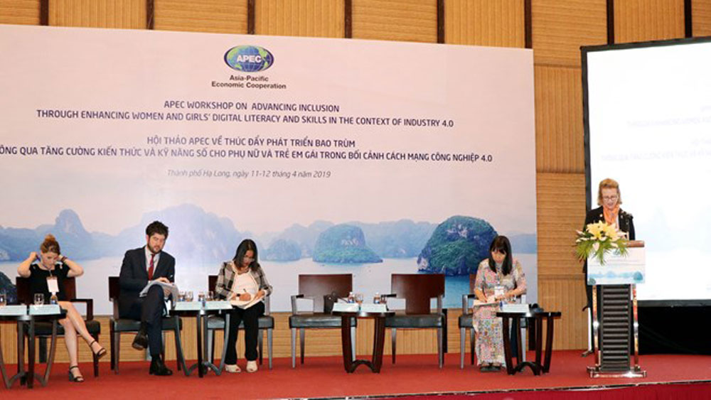 APEC workshop, digital literacy, women and girls, Asia-Pacific Economic Cooperation, Quang Ninh province, Fourth Industrial Revolution