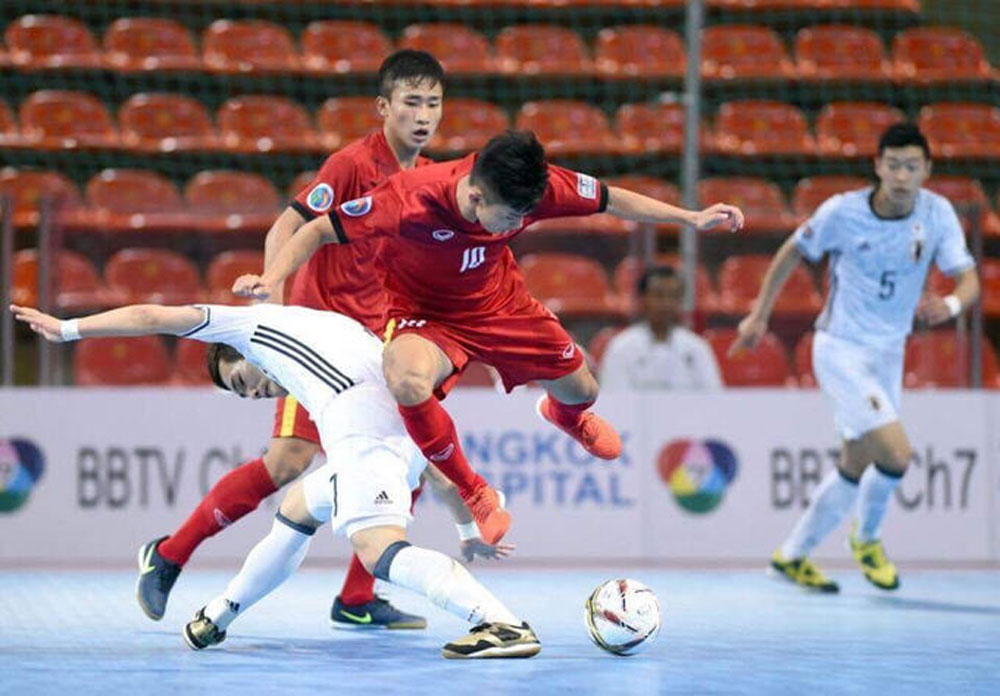 Vietnam, familiar opponents, Asian U20 Futsal,  Group C,  knockout round, biennial tournament,  national futsal league