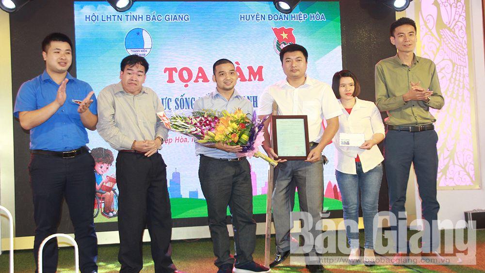 Ra mắt CLB Thanh niên khuyết tật huyện Hiệp Hòa