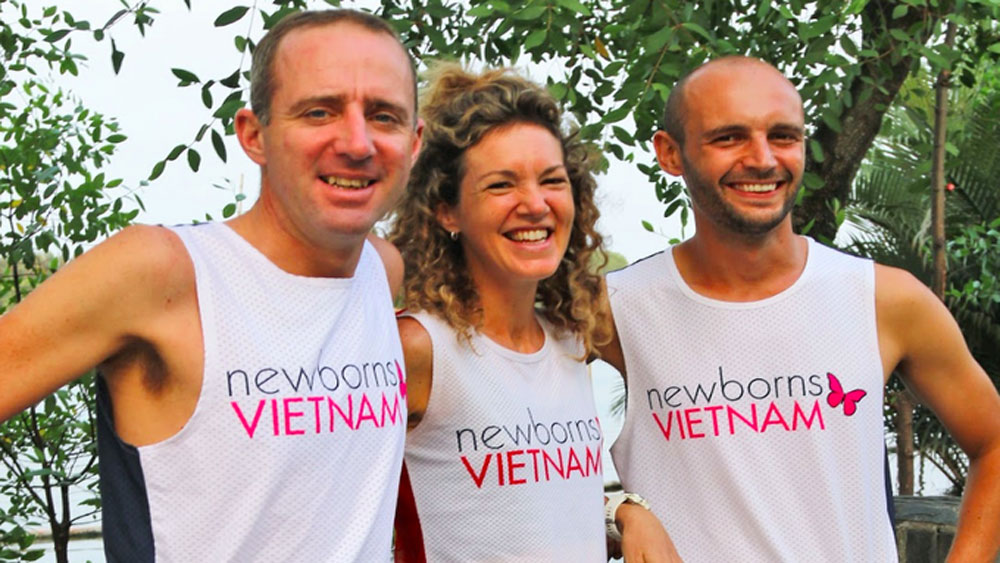 Expats to run 300km in 36 hours for newborns in Vietnam