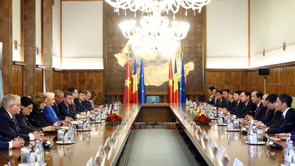 Thủ tướng Nguyễn Xuân Phúc, hội đàm, Thủ tướng Romania