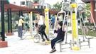 Khu vui chơi tại công viên Hoàng Hoa Thám: Điểm đến hấp dẫn của người dân