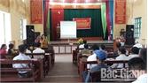 Tập huấn kỹ thuật thâm canh cho lãnh đạo thôn, bản