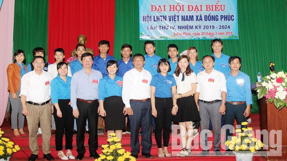Yên Dũng hoàn thành Đại hội Hội Liên hiệp thanh niên cấp cơ sở nhiệm kỳ 2019- 2024