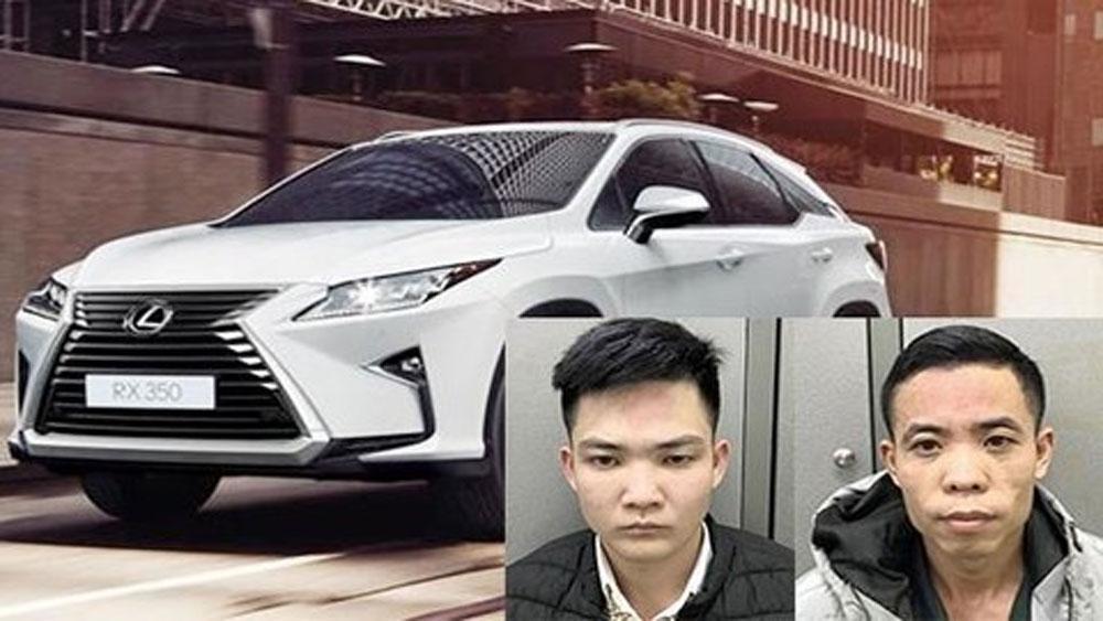 Hà Nội, trộn tiền âm phủ, tiền thậ, mua ôtô Lexus