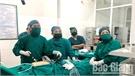 Trung tâm Y tế huyện Sơn Động thực hiện thành công kỹ thuật mổ nội soi
