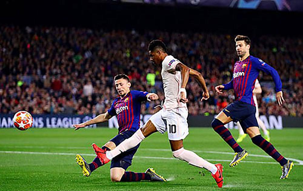 Barca, Man Utd, Champions League