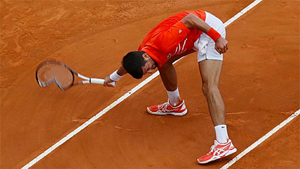 Djokovic, Philipp Kohlschreiber, Monte Carlo
