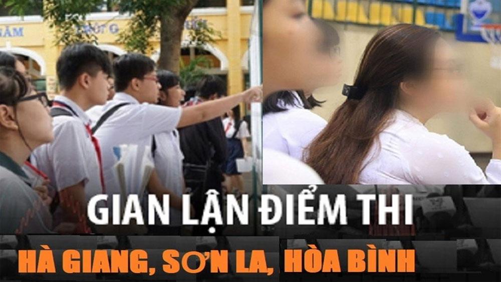 """Điểm danh, những """"thủ khoa rởm"""", Hòa Bình, Sơn La"""